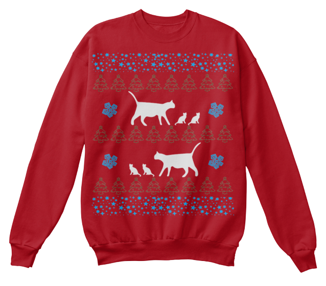 Christmas Mamma Cat Ugly Sweater - Zapbest2  - 7