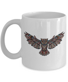 Funny Coffee Mug - Owl Lovers Mugs - Funny Farm White coffee mugs 11 oz