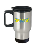 Pop culture lovers mugs , Sports - Stainless Steel Travel Insulated Tumblers Mug 14 oz - Great Gift