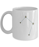 Libra Constellation Coffee Mug White Unique Large Big White White coffee mugs 11 oz