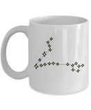 Pisces Constellation Coffee Mug White Unique Large Big White coffee mugs 11 oz