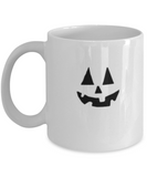 Jack O' Lantern Face | Halloween Pumpkin Fun Halloween special White coffee mugs 11 oz