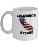 California state coffee mug - Porcelain White Funny Coffee Mug, White coffee mugs 11 oz