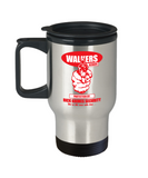 Plants vs zombies gift box mugs , Rick Grimes Security - Stainless Steel Travel Insulated Tumblers Mug 14 oz - Great Gift