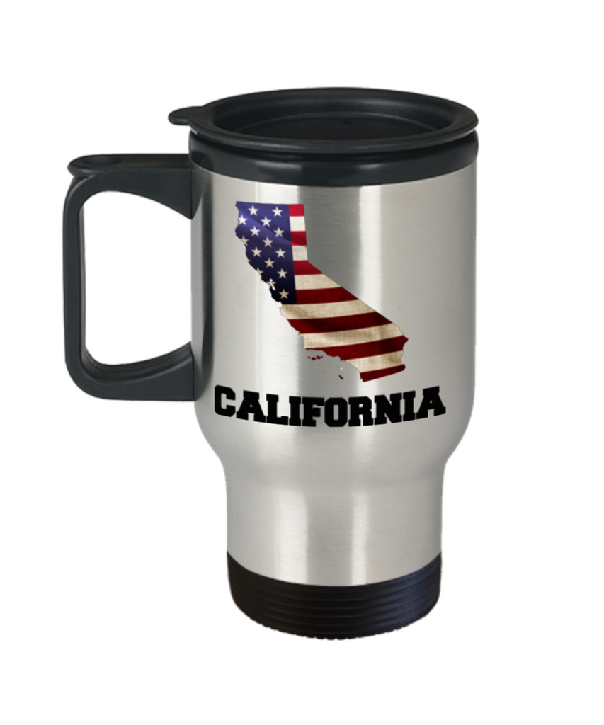 I Love California Travel Coffee Mugs Travel Coffee Cup sets 14 oz Travel mugs