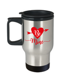 Be mine travel Mugs - Funny Valentines day Gifts - Christmas Gifts - Birthday Gag Gifts 14 oz