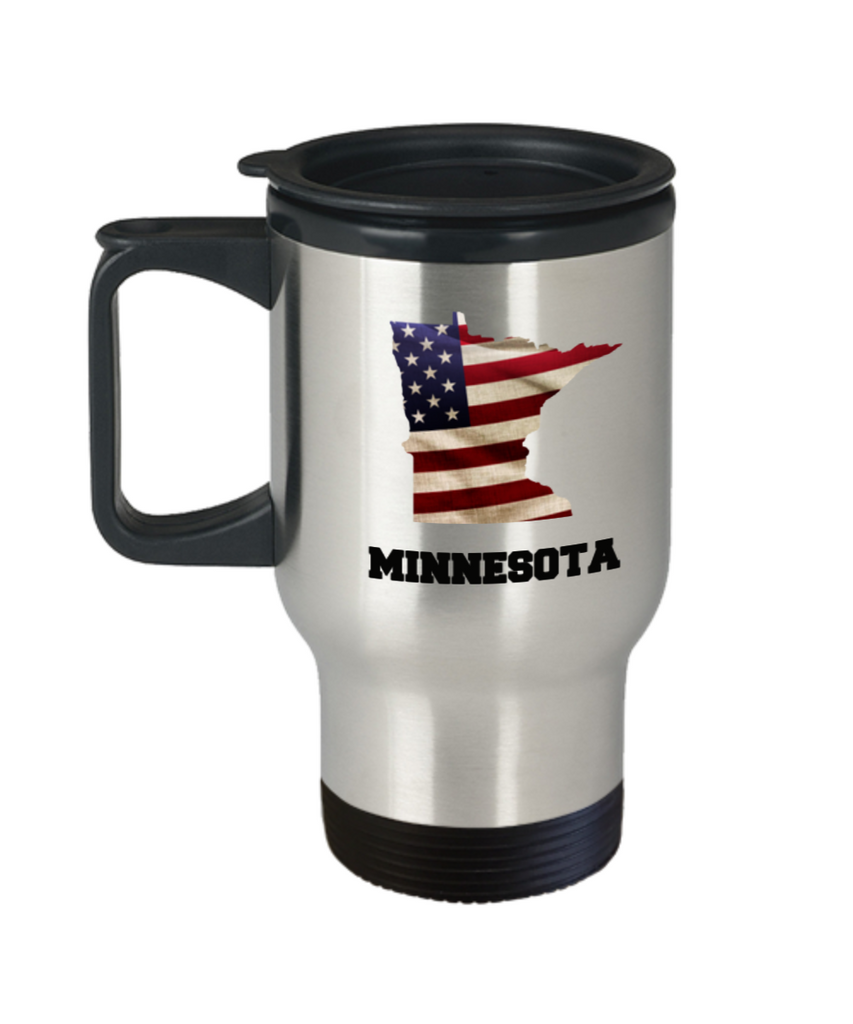 I Love Minnesota Coffee Travel mug sets - 14 OZ coffee mugs  State Love Funny Gift Idea Cup