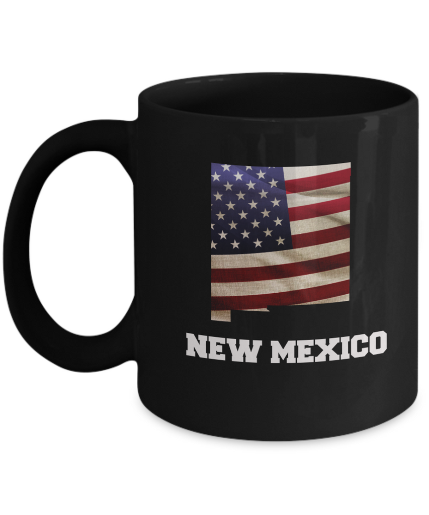 I Love New Mexico Coffee mug sets - 11 OZ Black coffee mugs  State Love Gift Idea Cup Funny