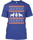 Christmas German Shepherd Ugly Sweater - Zapbest2  - 3