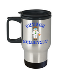 Future Scientist Coffee Travel Mug- Travel Coffee Cup,Premium 14 oz Travel coffee cup