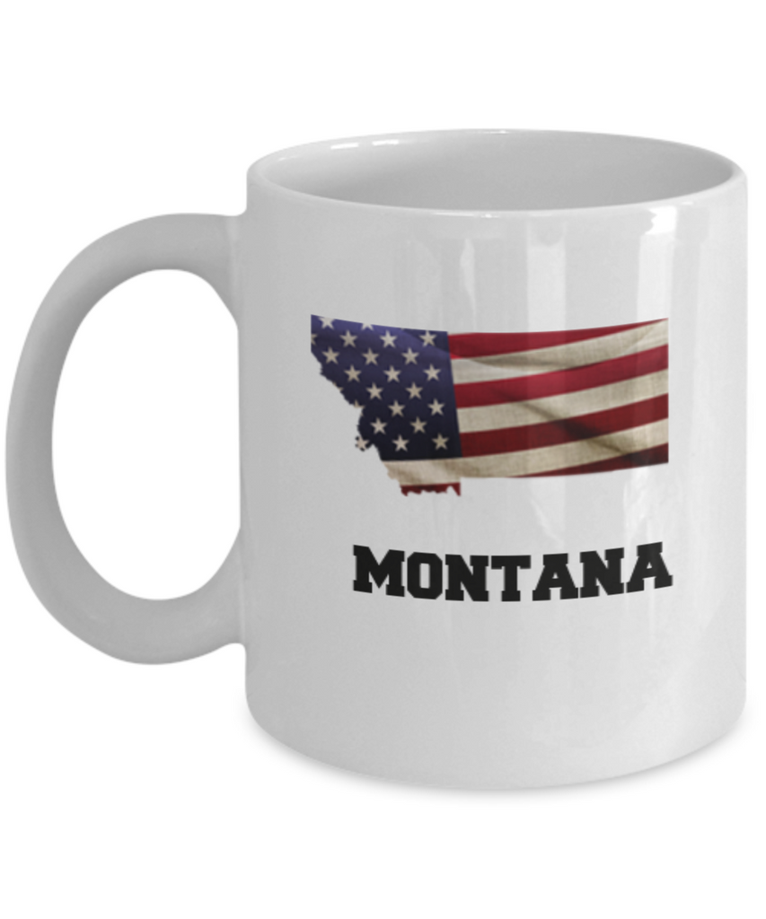 I Love Montana Coffee Mugs Coffee mug sets - 11 Oz State Love Gift Idea Tea Cup Funny