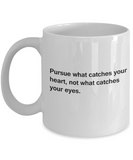 Good morning handsom mug - Purse What Catches Your Heart White coffee mugs 11 oz