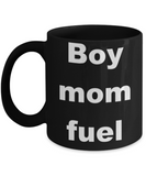 Boy Mom Fuel - Black Porcelain Coffee 11 oz