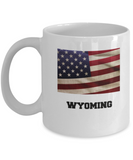 I Love Wyoming Coffee Mugs Coffee mug sets - 11 Oz State Love Gift Idea Tea Cup Funny