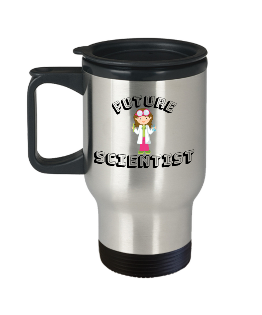 Scientist Coffee Travel Mug- Travel Coffee Cup,Premium 14 oz Travel coffee cup