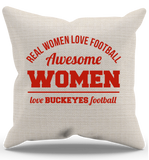 Awesome Buckeyes Woman Pillow Case - Zapbest2