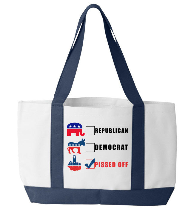 Pissed Off Tote Bag - Zapbest2