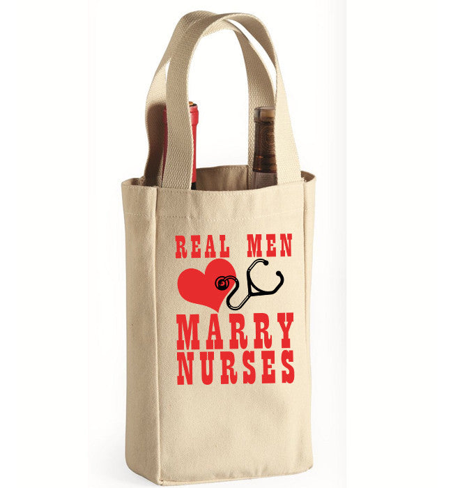 Real Men Wine Bag - Zapbest2