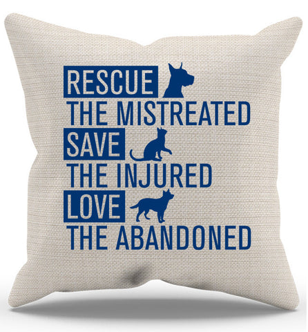 Rescue Animals Pillow Case - Zapbest2