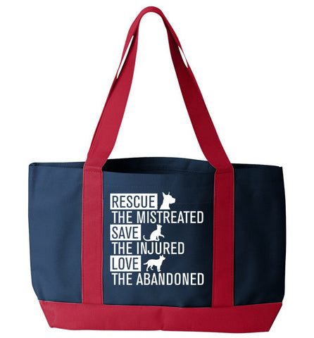 Rescue Animals Tote Bag - Zapbest2  - 1