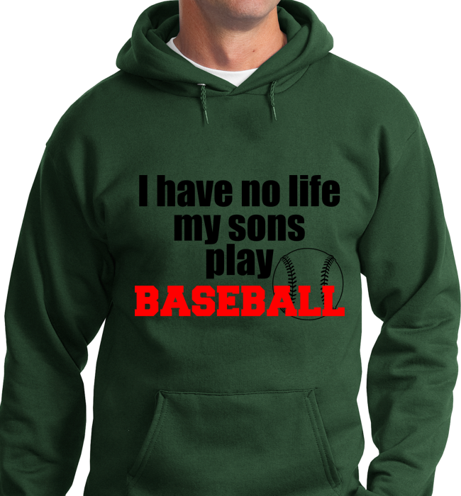 I Have No Life, My Sons Play Base Ball - Zapbest2  - 6