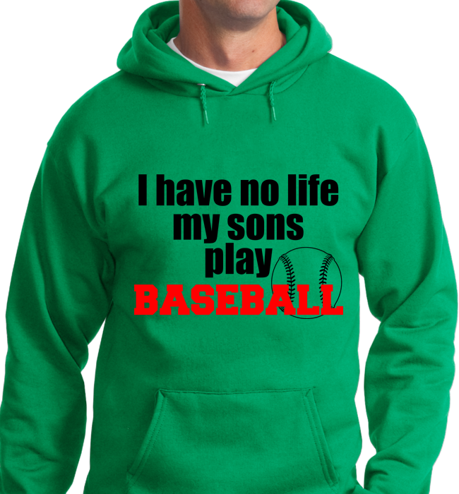 I Have No Life, My Sons Play Base Ball - Zapbest2  - 7