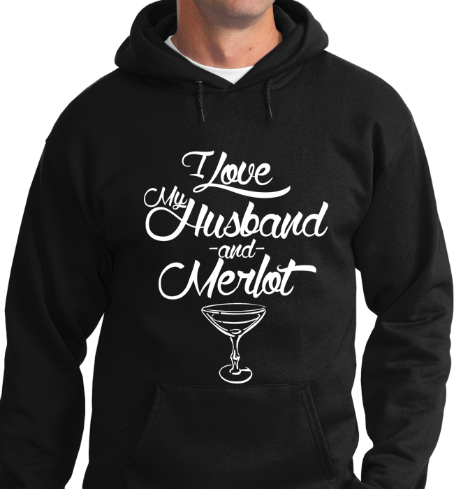 I Love My Husband & Merlot - Zapbest2  - 5