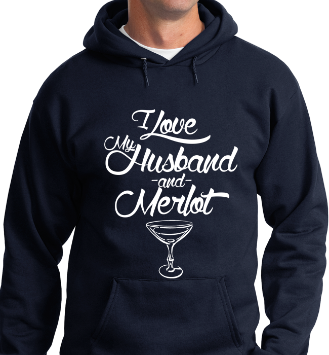 I Love My Husband & Merlot - Zapbest2  - 7