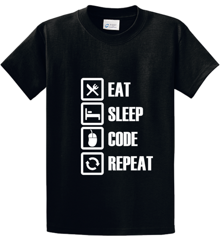 Eat, Sleep, Code, Repeat - Zapbest2  - 1