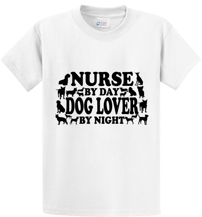 Nurse By Day, Dog Lover By Night - Zapbest2  - 1