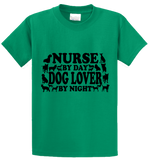 Nurse By Day, Dog Lover By Night - Zapbest2  - 2