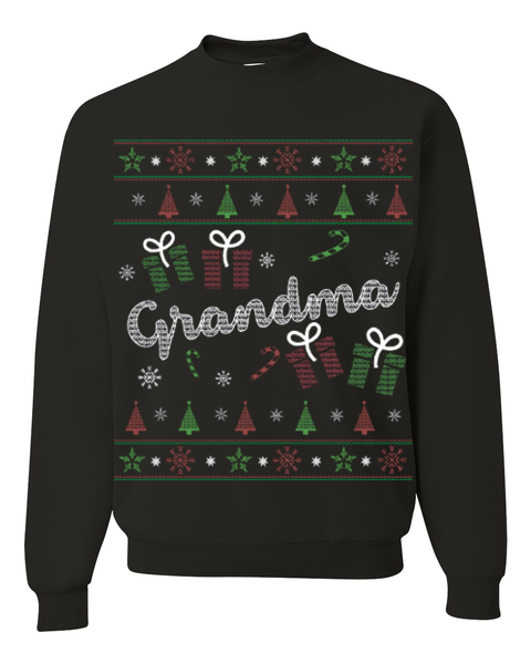 Christmas Grandma Ugly Sweater - Zapbest2  - 5