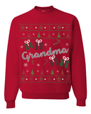 Christmas Grandma Ugly Sweater - Zapbest2  - 7