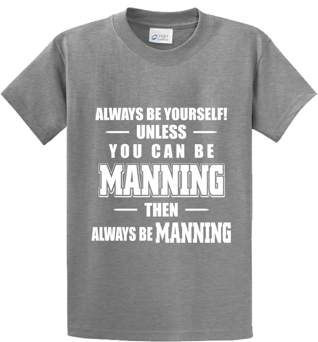 Be Yourself Or Manning - Zapbest2  - 4