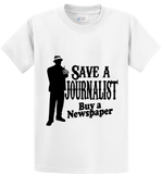 Save A Journalist, Buy Newspaper - Zapbest2  - 1