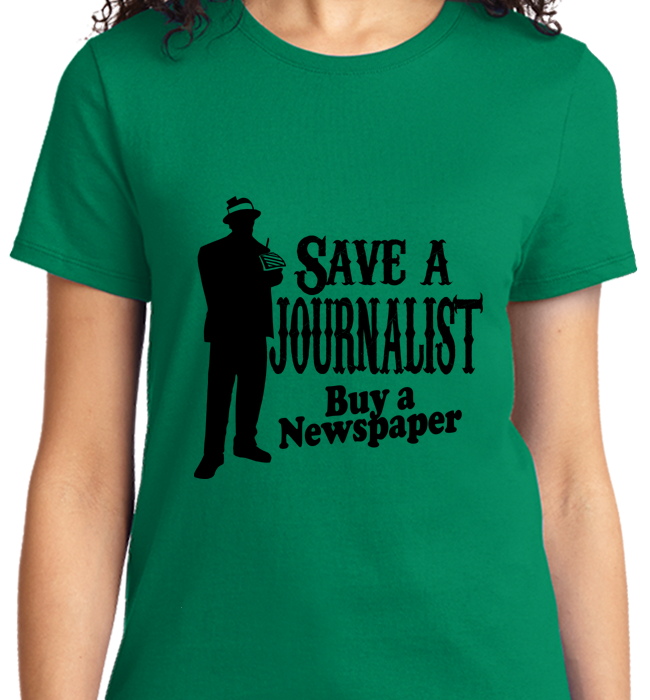 Save A Journalist, Buy Newspaper - Zapbest2  - 9