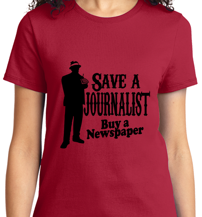 Save A Journalist, Buy Newspaper - Zapbest2  - 10
