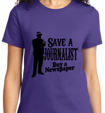 Save A Journalist, Buy Newspaper - Zapbest2  - 11