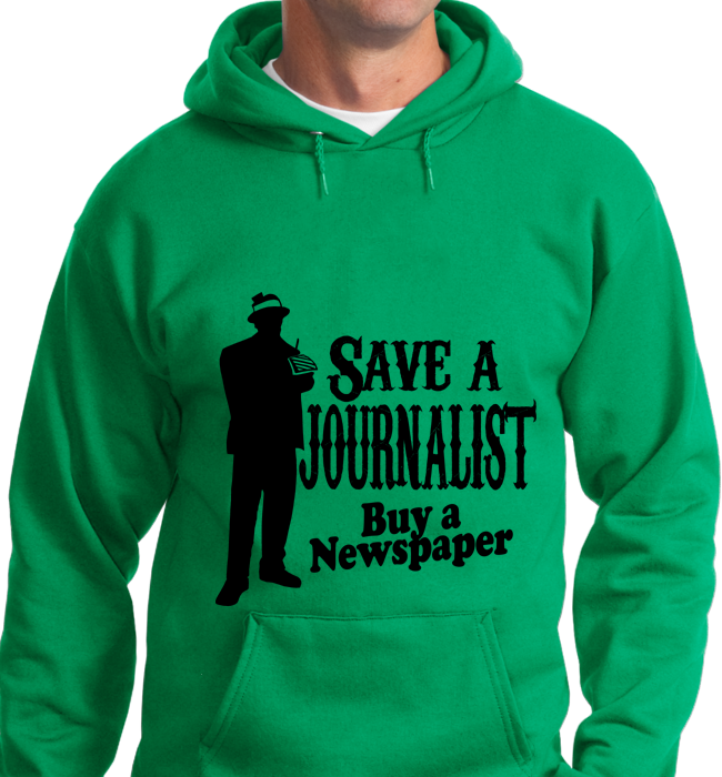 Save A Journalist, Buy Newspaper - Zapbest2  - 6
