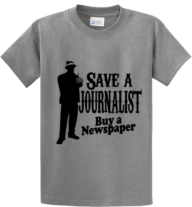 Save A Journalist, Buy Newspaper - Zapbest2  - 5