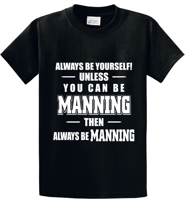 Be Yourself Or Manning - Zapbest2  - 1