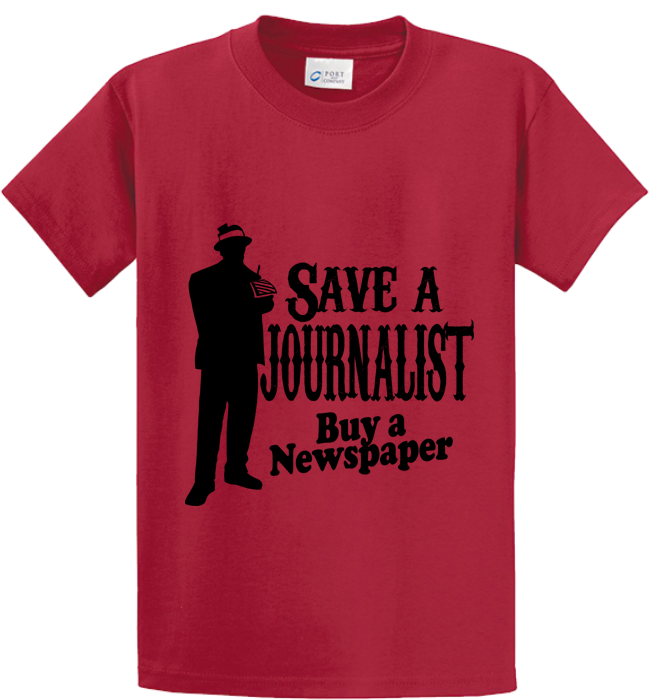 Save A Journalist, Buy Newspaper - Zapbest2  - 3