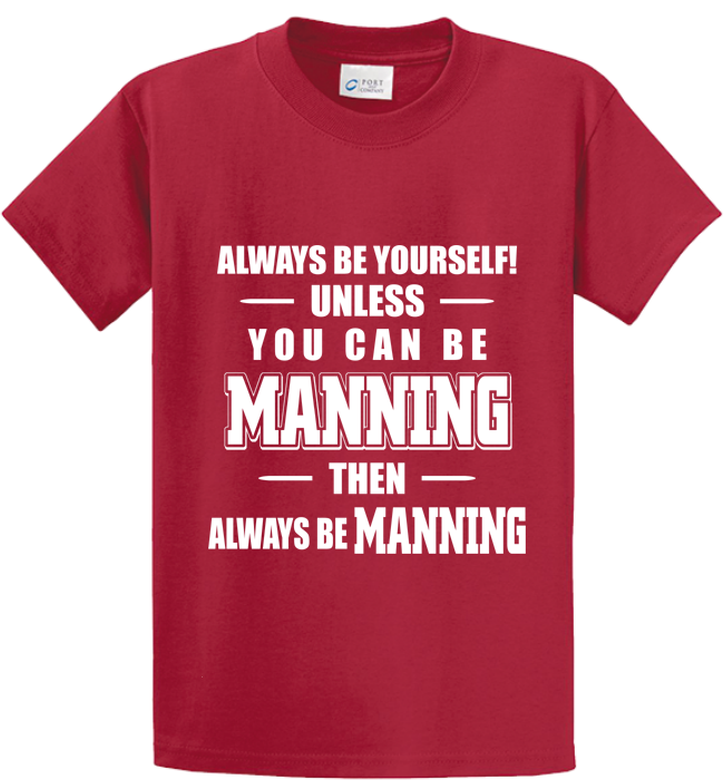 Be Yourself Or Manning - Zapbest2  - 2