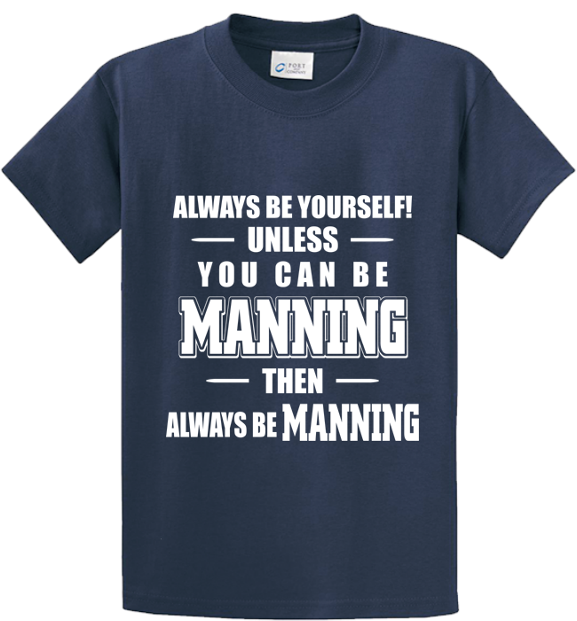 Be Yourself Or Manning - Zapbest2  - 3