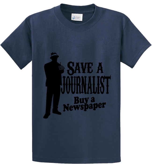 Save A Journalist, Buy Newspaper - Zapbest2  - 4
