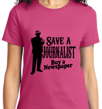 Save A Journalist, Buy Newspaper - Zapbest2  - 12