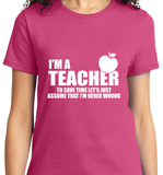 I'm A Teacher - Zapbest2  - 11