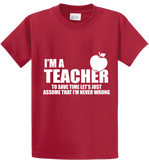 I'm A Teacher - Zapbest2  - 2