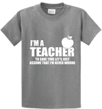 I'm A Teacher - Zapbest2  - 4