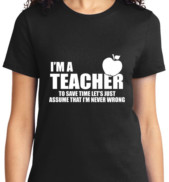 I'm A Teacher - Zapbest2  - 8